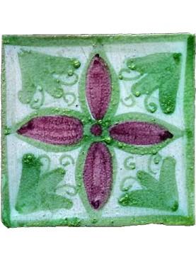 Burgio Majolica tile from Sicily