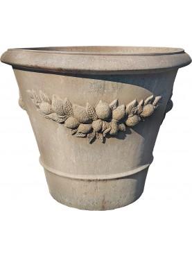 Conca con Limoni Toscana Ø60cm terracotta Impruneta