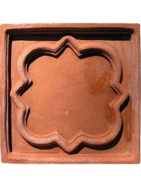 Terracotta tuscan ceiling Plaque