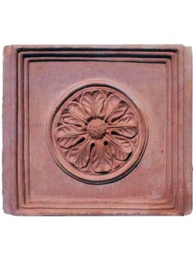 Terracotta ceiling tile