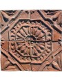 Originale formella in terracotta antica di recupero