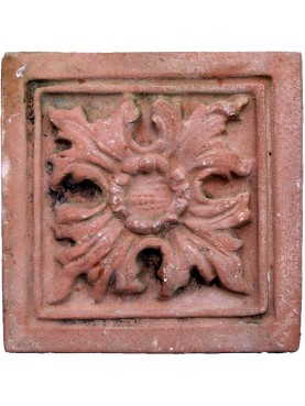 Terracotta Ceiling Plaque