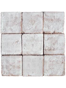 White majolica Tiles