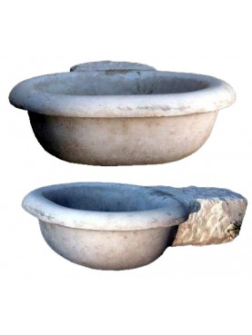 Font in marble