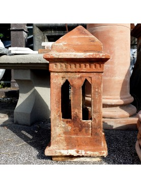 Ancient terracotta chimney