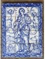 Pannello Madonna del 1734