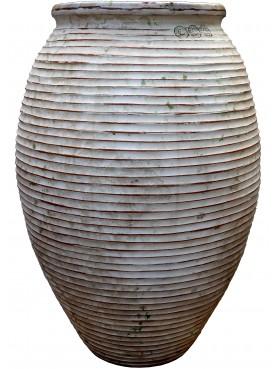 Anfora Micenea in terracotta invetriata H 120 cm