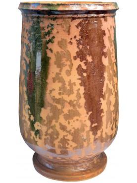 Tipico vaso fiammato di Anduze (F) - Ø55cm - maiolica francese