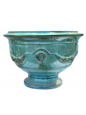 Tipico vaso fiammato di Anduze (F) - Ø74cm - maiolica francese