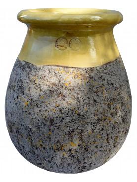 Tipico vaso fiammato di Anduze (F) - Ø54 - maiolica francese