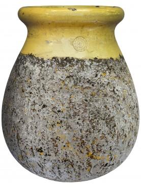 Tipico vaso fiammato di Anduze (F) - Ø48cm - maiolica francese