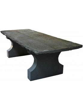 Tavolo in pietra da 250 cm di lunghezza originale antico