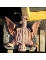 Eagle coat of arms - terracotta
