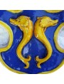 Coat of Arms with dolphins - de Pazzi Family