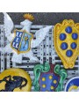 Medici's Coat of arms - terracotta