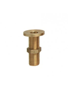 Brass threaded drain Ø4cms