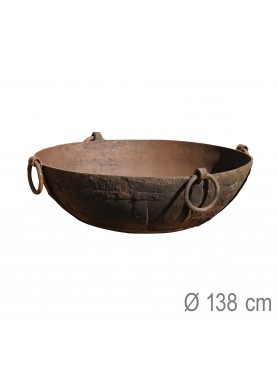 Enormous brazier Ø138cms barbecue