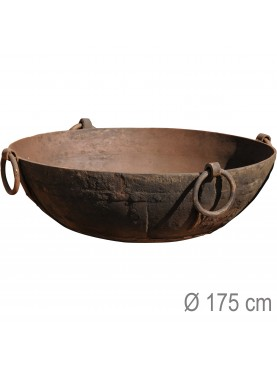 Enormous brazier barbecue Ø175cms