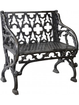 Cast iron benche SMALL SIZE French origin - Val d'Osne foundry