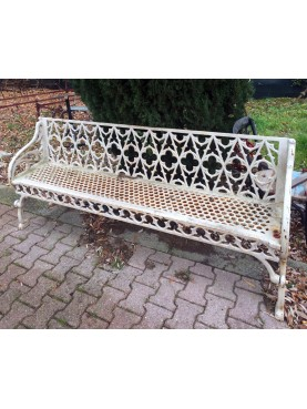 Cast iron benche LARGE SIZE French origin - Val d'Osne foundry