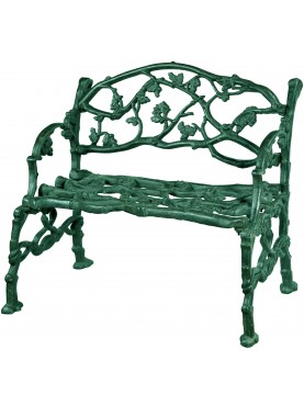 small castiron Vineyards bench repro of an ancient model