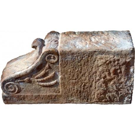 Mensola in terracotta