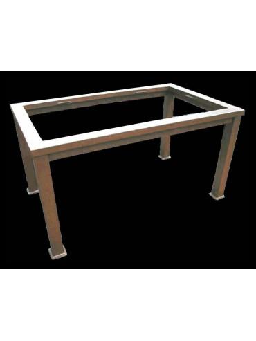Basi In Ferro Per Tavoli Da Giardino.Base Per Tavolo Minimalista In Ferro Recuperando