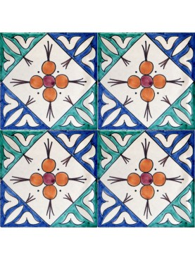 Piastrella Marocchina fatta a mano