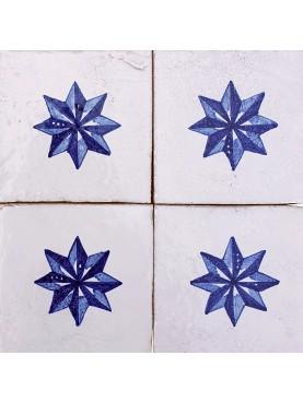 Piastrella di nostra produzione con stella