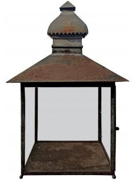 Garden italian lantern forged iron