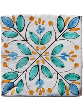 Majolica tile 10x10 cms our production