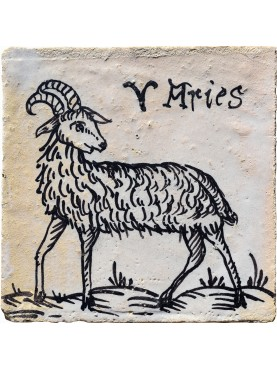 Aries zodiac sign a tile 35 €