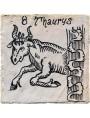 Taurus zodiac sign a tile 35 €