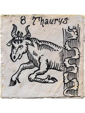Segno zodiacale TORO una piastrella 35€