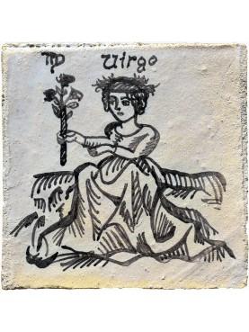 Segno zodiacale VERGINE una piastrella 35€