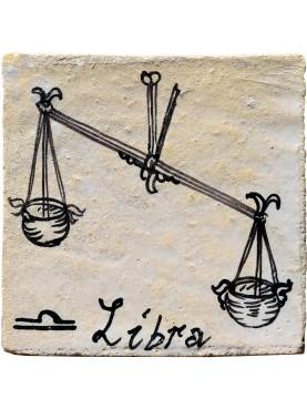 LIBRA zodiac sign a tile 35 €