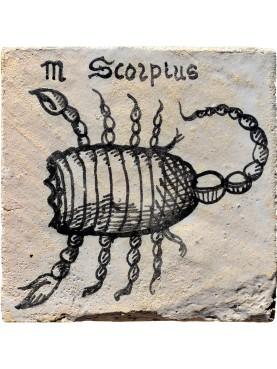 Segno zodiacale SCORPIONE una piastrella 35€