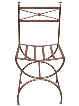 Iron garden chair wroughtiron Ferragamo