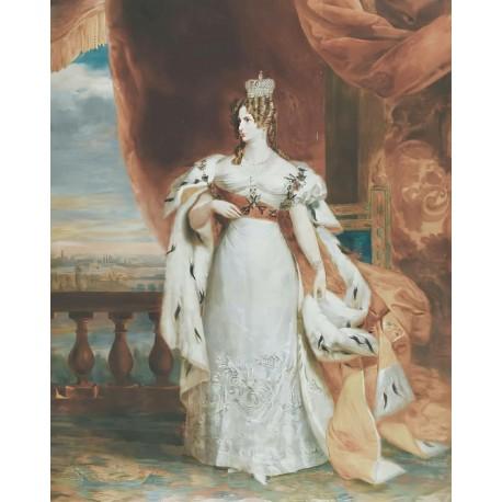 Grand Duchess Anna Pavlovna of Russia c. 1824/1825 Portrayed by George Dawe (1781-1829)