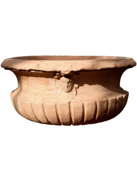 Big terracotta cachepot lucca - Palazzo Pfanner