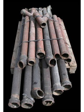 Cast-Iron drainage pipes Antique