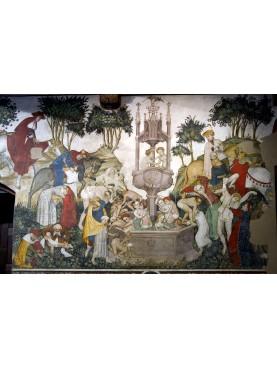 Giacomo Jacquerie, Fontana della Giovinezza, Castello di Manta(1200 circa).