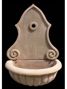 Vaschetta e frontalino in terracotta