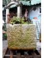 Colonnata marble basin for lard