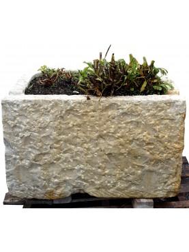 Vasca in marmo originale antica - pila da lardo