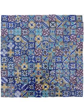 Piccole Piastrelle Marocchine Miste fatte a mano 5x5 cm