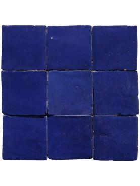 Piastrelle Marocchine fatte a mano 10x10 cm BLU