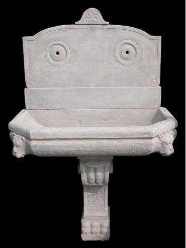 Big fontain in stone