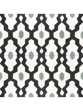 Cement tiles Off-white