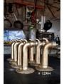 Grande bocchettone da fontana in ottone